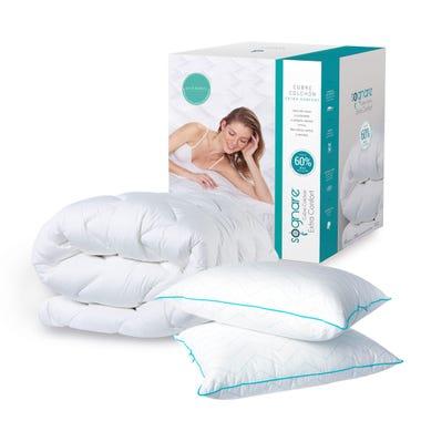 Cubre Colchón Sognare® Extra Confort Queen + 2 Almohadas